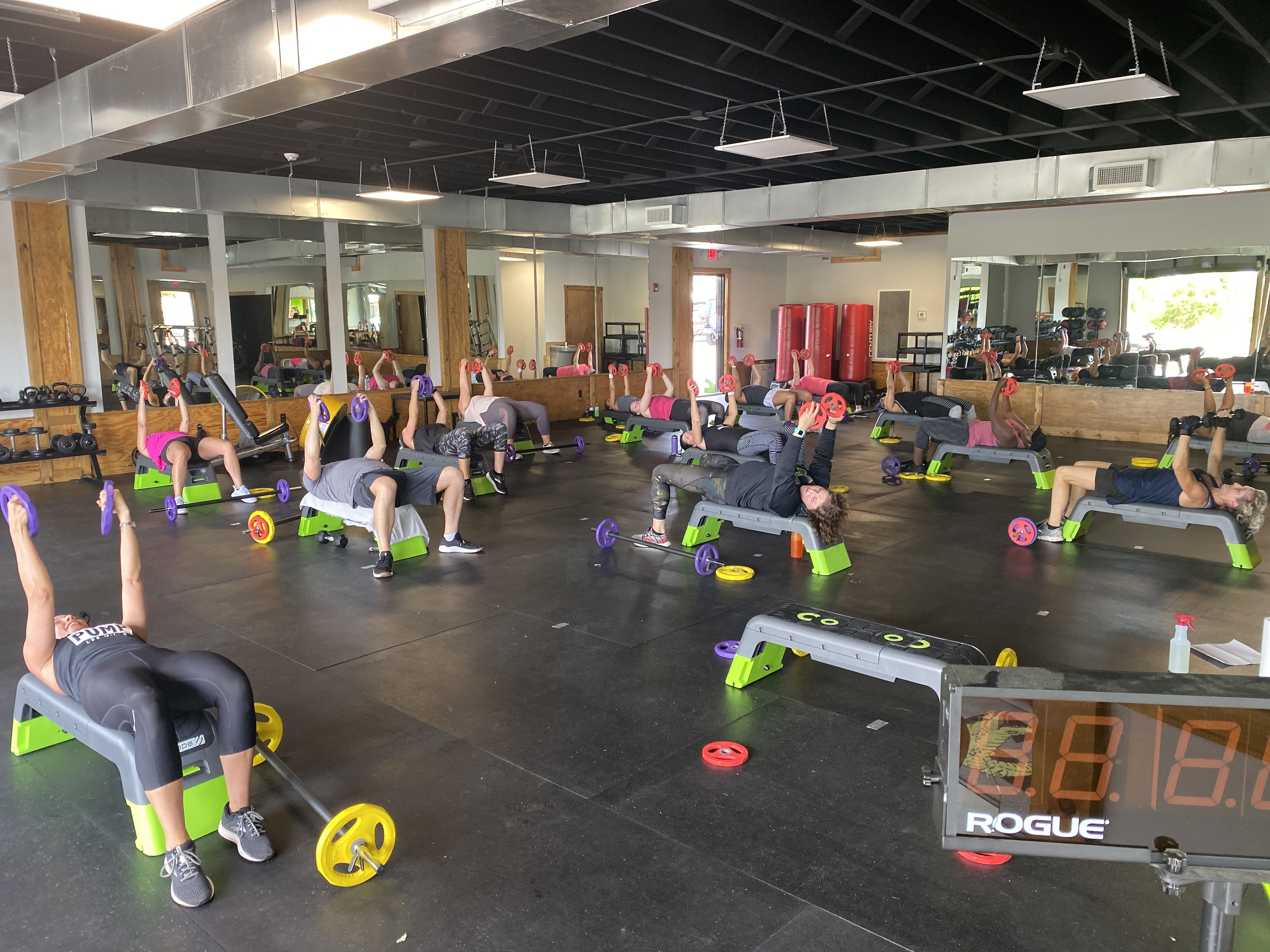 group fitness florence